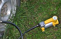 Автомобильный компрессор AC+PRO12 V YELLOW LARGE SINGLE BAR, Насос для шин, Запчасти, Товары для автомобиля