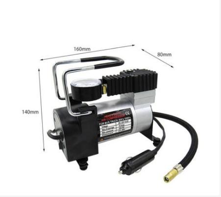 Автомобильный компрессор AIR COMRPRESSOR 120 PSI 12 V, Компрессор, Компрессор подкачки шин, Товары для