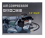 Автомобильный компрессор AIR COMRPRESSOR 120 PSI 12 V, Компрессор, Компрессор подкачки шин, Товары для, фото 5