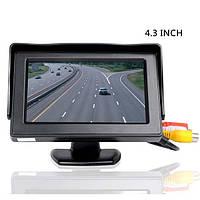 Дисплей LCD 4.3'' JL403HR для камеры заднего вида, Монитор для автомобиля, Экран в машину, Монитор автомобильный для камеры