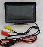 Дисплей LCD 4.3'' JL403HR для камеры заднего вида, Монитор для автомобиля, Экран в машину, Монитор автомобильный для камеры, фото 3