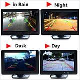 Дисплей LCD 4.3'' JL403HR для камеры заднего вида, Монитор для автомобиля, Экран в машину, Монитор автомобильный для камеры, фото 7