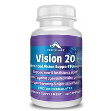 Vision 20 (Віжн 20) - капсули для поліпшення зору