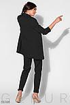 Классический брючный костюм-двойка с пиджаком свободного кроя, фото 3