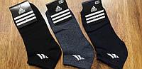 """Жіночі стрейчеві шкарпетки в стилі """"Adidas W"""" Туреччина 36-40 короткі, фото 1"""