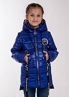 Куртка весна-осень девочка   34-44  электрик