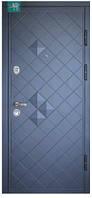 Двері вхідні П-3К-112 V Aнтрaцит 3D Vinorit