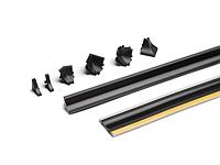 Пристеночный профиль REHAU 635008-004 Compact-Line чорний 50000 мм CL 98104
