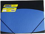 Папка на резинках А4 двухцветная пластиковая, фото 2