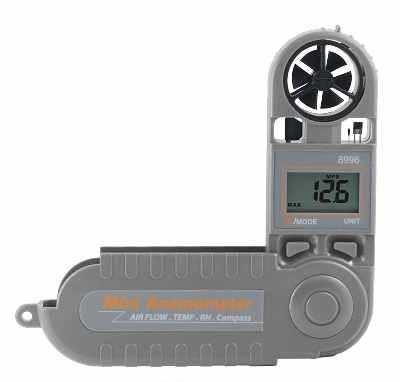 8996 Az Instrument Кишеньковий анемометр з електронним компасом