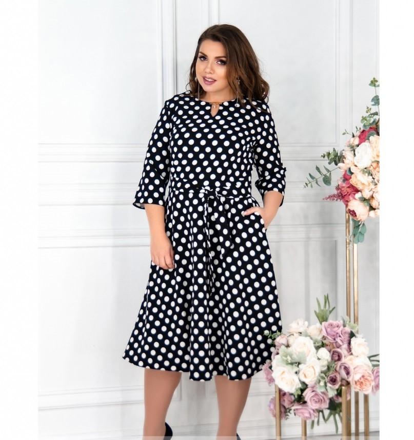 Платье Minova 117-003-черный
