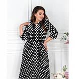 Платье Minova 117-003-черный, фото 3