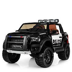Детский электромобиль Bambi Ford Raptor черный M 4173