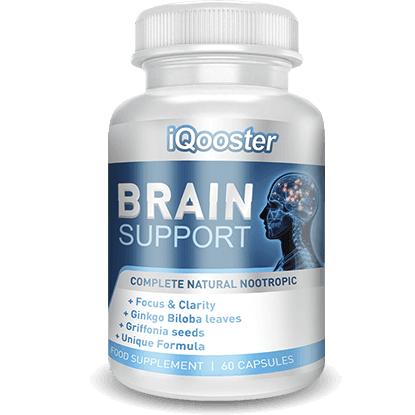 Iqooster (Икюстер) - капсули для підвищення мозкової активності