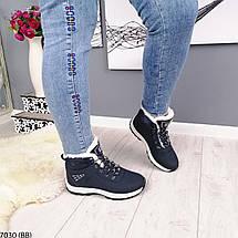 Жіночі зимові кросівки з хутром, фото 3