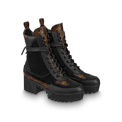 Стильные женские ботинки Louis Vuitton