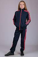Детский спортивный костюм теплый (синий)