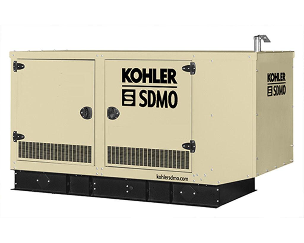 Трехфазный газовый генератор SDMO GZ45 (32.8 кВт) с автоматическим запуском