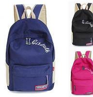 Стильный рюкзак School of sport  ! в Наличии 7 цветов  Оригинал ,высококачественный,  фабричный!, фото 1