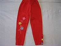 Детские однотонные лосины для девочек 5-9 лет  110-134 см  Турция, фото 1