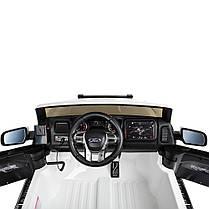 Детский электромобиль Bambi Ford Raptor белый M 4173, фото 2