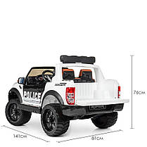 Детский электромобиль Bambi Ford Raptor белый M 4173, фото 3