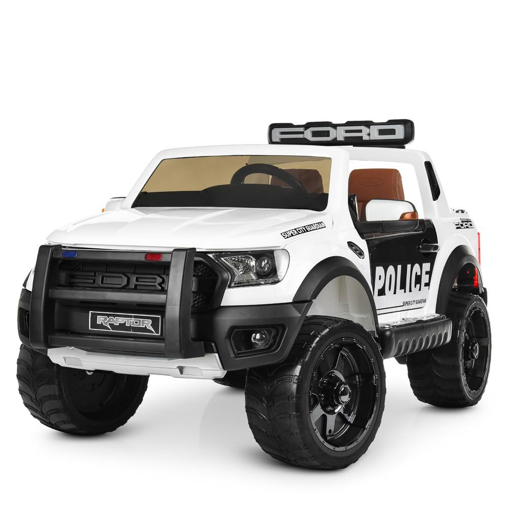 Детский электромобиль Bambi Ford Raptor белый M 4173