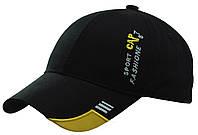 Бейсболка вышивка SPORT CAP желтый