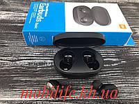 Наушники беспроводные Xiaomi Redmi AirDots black Mi bluetooth Гарнитура/Копия/