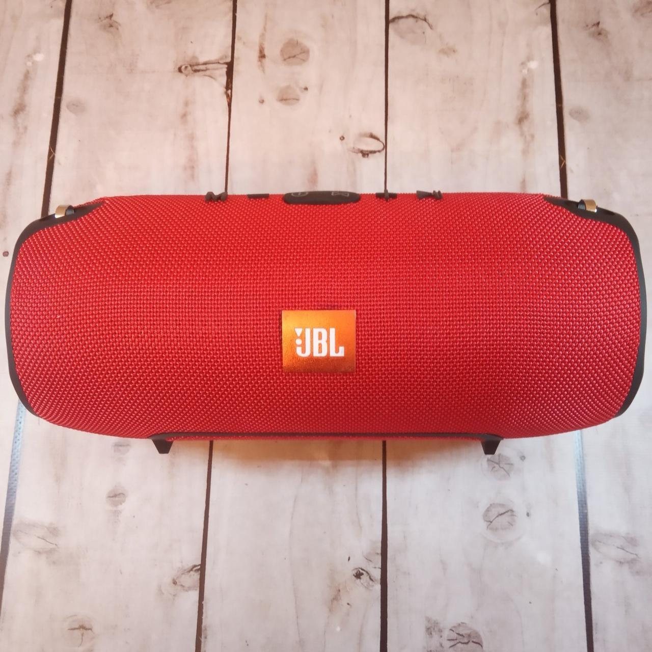 Портативная колонка в стиле JBL Xtreme Superbass Big большая - Красная (Живые фото)