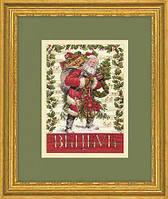 """70-08980 Набор для вышивания крестом """"Believe in Santa//Верить в Санту"""" DIMENSIONS"""