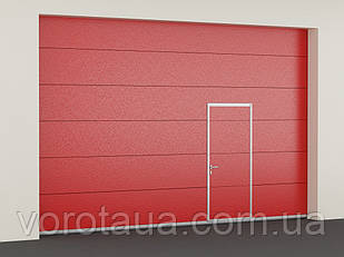 Секционные противопожарные ворота DoorHan с классом огнестойкости EI30
