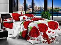Семейный комплект постельного белья из ранфорса R519
