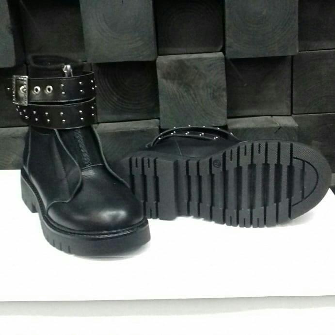Стильные женские зимние кожаные ботинки Еврозима!!!