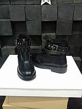 Стильные женские зимние кожаные ботинки Еврозима!!!, фото 3