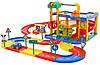 Дитячий іграшковий Гараж, паркінг трек 2 рівня Wader 37831 ігровий набір для дітей