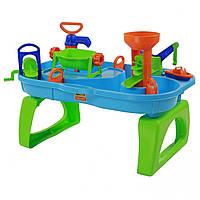 Детский игровой водный столик трек Wader 40909 для детей, фото 1
