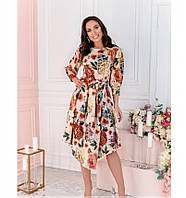 Платье Minova 13137В-пудра