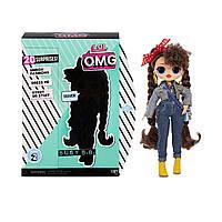Игровой набор LOL Surprise Busy B.B. серия OMG Fashion Doll S2 Фэшн кукла ЛОЛ Сюрприз Леди Техно оригинал MGA