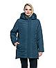 Весенняя куртка женская стеганная, арт. ЛД104, цвет малахит