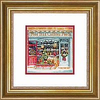 """70-08973 Набор для вышивания крестом """"Кофейный магазин//Coffee Shoppe"""" DIMENSIONS"""
