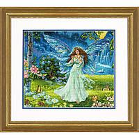 """70-35354 Набор для вышивания крестом """"Весенняя фея//Spring Fairy"""" DIMENSIONS"""