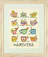 """70-35335 Набор для вышивания крестом """"Искусство чая//The Art of Tea"""" DIMENSIONS"""