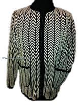Женская вязаная кофта-травка(с 52 по 56 размер)