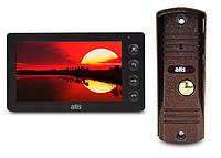 Комплект видеодомофона ATIS AD-760 Kit box Черный, фото 1
