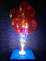 Светящаяся  подставка на 7 воздушных шаров.Высота:70м. Пр-во: Китай,, фото 1