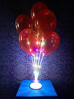Светящаяся  подставка на 7 воздушных шаров.Высота:70м. Пр-во: Китай,