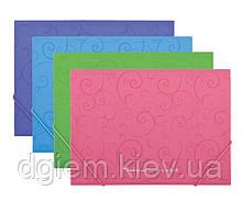 Папка на резинках А4 BAROCCO пластиковая