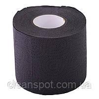 Туалетная бумага черного цвета 3-х слойная целлюлоза на гильзе, фото 2
