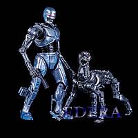 NECA Robocop vs Terminator EndoCop and Terminator Dog, ЕндоКоп та Пес термінатор, фото 1
